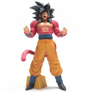 Banpresto Dragon Ball GT Super Master Stars Piece Son Goku Super Saiyan IV - The Brush Figure (pink)