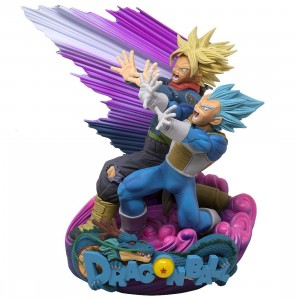 Banpresto Dragon Ball Super Super Master Stars Diorama II Vegeta And Trunks The Brush II Figure (blue)