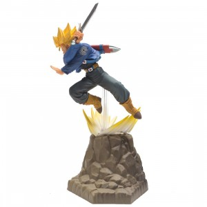 Banpresto Dragon Ball Z Absolute Perfection Trunks Figure (blue)