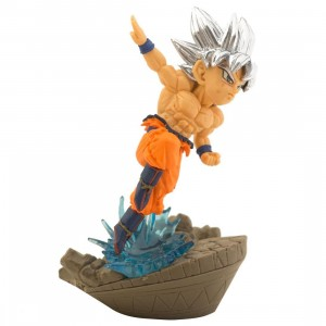 Banpresto Dragon Ball Super World Collectable Diorama Vol. 2 - 05 Goku Figure (tan)