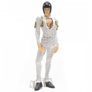 Banpresto JoJo's Bizarre Adventure Golden Wind JoJo's Figure Gallery 2 Bruno Bucciarati Figure (white)