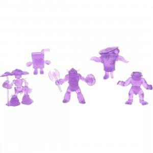 BAIT WonderCon Exclusive OMFG! Outlandish Mini Figure Guys Series 3 Set (purple)