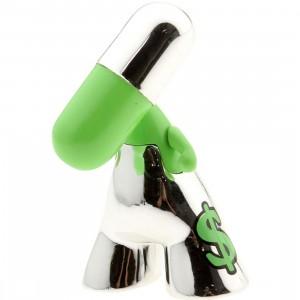 Pix Zee Silver Series 2.5 Inch Figure - Dollar (green)
