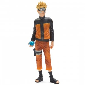 Banpresto Naruto Shippuden Grandista Shinobi Relations Naruto Figure (orange)