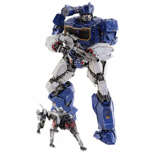 Threezero Transformers Bumblebee Soundwave And Ravage Deluxe Scale Figure (blue)