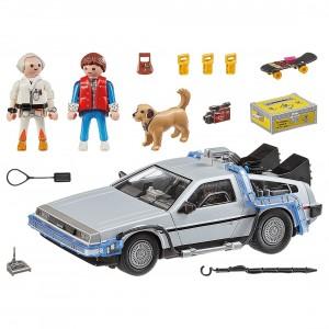 Playmobil Back To The Future Delorean 70317 Set (gray)