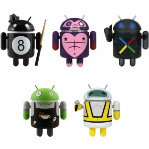 Dyzplastic Android Mini Collectible Series 03 Figure - 1 Blind Case (16 Blind Boxes)