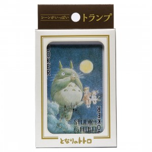 Studio Ghibli Ensky My Neighbor Totoro Movie Scenes Playing Cards (green)