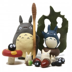 Studio Ghibli Ensky My Neighbor Totoro NOS-19 Totoro Assortment Stacking Figure (gray)