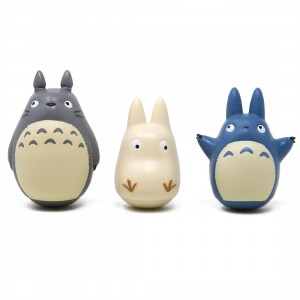 Studio Ghibli Ensky My Neighbor Totoro Totoro Tilting Figure Collection (gray / blue / white)