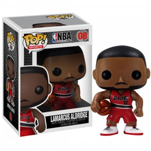Funko NBA LaMarcus Aldridge POP Series 1 Figure (red)