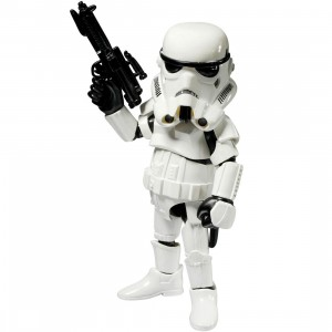 Herocross Hybrid Metal Figuration #005 Stormtrooper Diecast Figure (white)