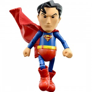 Herocross Hybrid Metal Figuration #007 Superman Diecast Figure (blue / red)