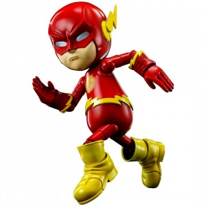 Herocross Hybrid Metal Figuration #017 DC Flash Diecast Figure (red)