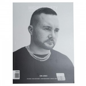 Highsnobiety Magazine Issue 17 - Kim Jones (white / print)