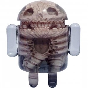 Android Foundry x Scott Wilkowski Infected Android Figure (black) - SDCC Exclusive