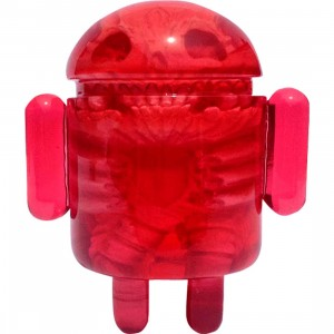 Android Foundry x Scott Wilkowski Infected Android Figure (red) - SDCC Exclusive