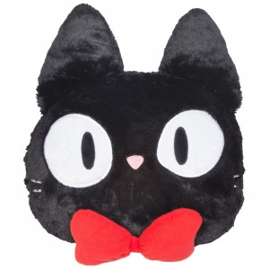 Studio Ghibli Marushin Kiki's Delivery Service Jiji Die-cut Pillow (black)