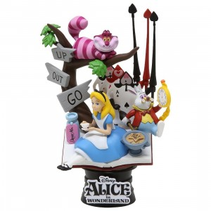 Beast Kingdom Disney Alice In Wonderland D-Select DS-010 6 Inch Statue - PX Previews Exclusive (blue)