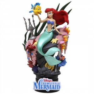 Beast Kingdom Disney Little Mermaid D-Select DS-012 6 Inch Statue - PX Previews Exclusive (teal)