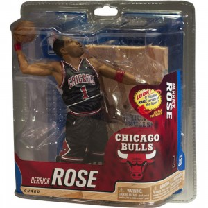 McFarlane Derrick Rose NBA Sports Picks Series 20 Figure - Chase Black Uniform (black)
