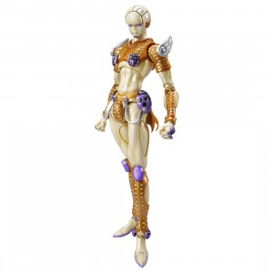 Medicos Super Action Statue JoJo's Bizarre Adventure Part 5 Golden Wind Gold Experience Chozokado Figure Re-Run (gold)