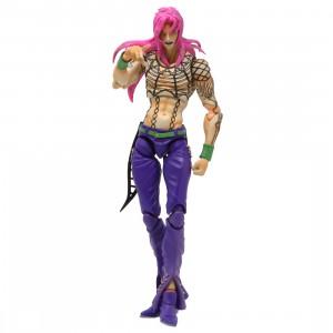 Medicos Super Action Statue JoJo's Bizarre Adventure Diavolo Figure (pink)