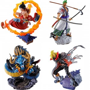 MegaHouse One Piece Logbox Re:Birth Wano Country Vol.1 Set of 4 Figures (multi)