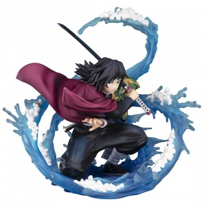 Bandai Figuarts ZERO Demon Slayer Kimetsu no Yaiba Tomioka Giyu Water Breathing Figure (blue)