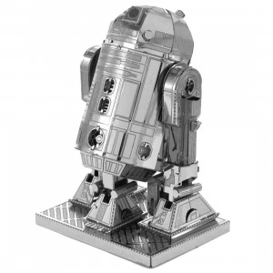 Fascinations Metal Earth Model Kit - Star Wars R2-D2 (silver)