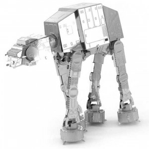 Fascinations Metal Earth Model Kit - Star Wars AT-AT (silver)
