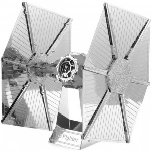 Fascinations Metal Earth Model Kit - Star Wars Tie Fighter (silver)