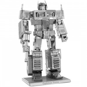 Fascinations Metal Earth Model Kit - Transformers Optimus Prime (silver)