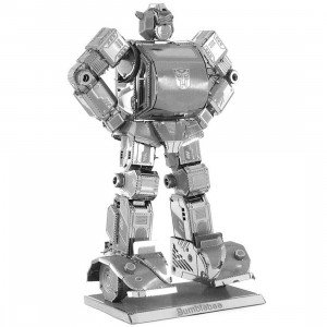 Fascinations Metal Earth Model Kit - Transformers Bumblebee (silver)