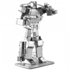 Fascinations Metal Earth Model Kit - Transformers Soundwave (silver)