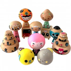 Noferin Jibibuts Artist Series Mini Figure Collection - 1 Blind Case (12 Blind Box)
