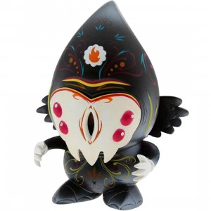 Munky King Pusher Monster 6 Inch Figure (black)