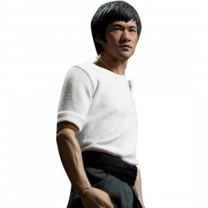 Enterbay Bruce Lee 1/6 Scale 12 Inch Figure - The Big Boss (white / black)