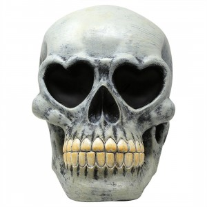 Collectorsmates x Ron English PoPaganda Heart Skull Sculpture - Convention Exclusive (gray)
