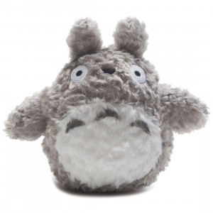 Studio Ghibli Sun Arrow My Neighbor Totoro Grey Fluffy Big Totoro 6 Inch Plush (gray)