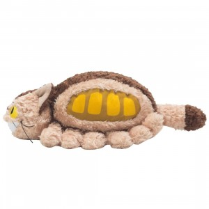 Studio Ghibli Sun Arrow My Neighbor Totoro Fluffy Cat Bus Plush (brown)