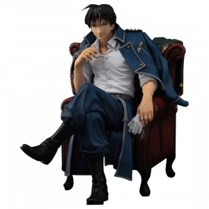 Sentinel Full Metal Alchemist Roy Mustang 1/8 Scale Figure (navy)