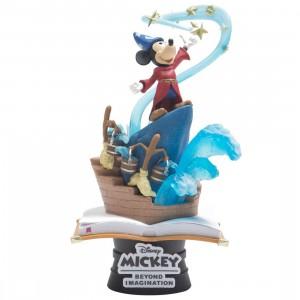 Beast Kingdom Disney Mickey Mouse Sorcerers Apprentice D-Select DS-018 6 Inch Statue - PX Previews Exclusive (blue)