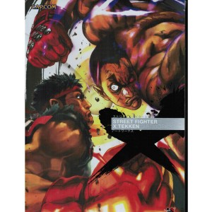 Street Fighter x Tekken Artworks Art Book