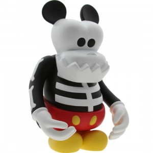 Disney x CLOT x Bounty Hunter x MINDstyle Skull Kun Mickey 10 Inch Figure (white)