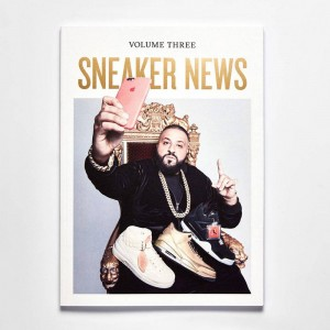 Sneaker News Vol 3 Magazine - DJ Khaled Issue (white / multi)