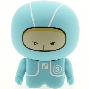 Unkl UniPO Speed Demons 3 Light Blue Tot Mini Figure Series 5 (blue / light blue)