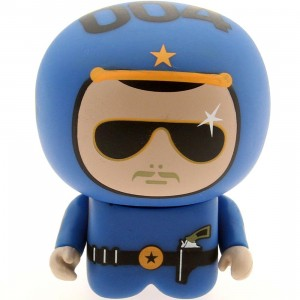 Unkl UniPO Speed Demons 4 Cop Rer Mini Figure Series 5 (blue)