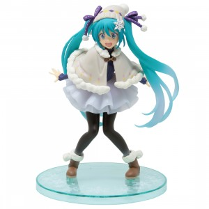 Square Enix Hatsune Miku Winter Ver. Renewal Figure (blue)