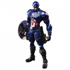 Square Enix Marvel Universe Variant Bring Arts Captain America Figure (navy)